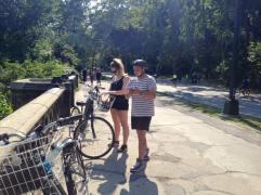 Cycling Central Park NY